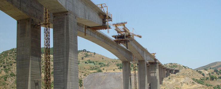 Algeria - Viaduct of Ain Turk