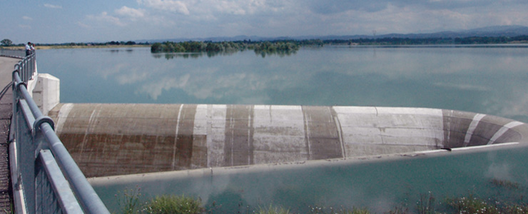 Italy, Basin expansion River Parma
