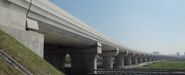 Italy, Modena - Relocation of the old railway line