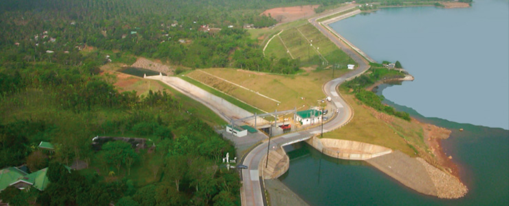 Philippines, Luzon - Hydroelectric power plant