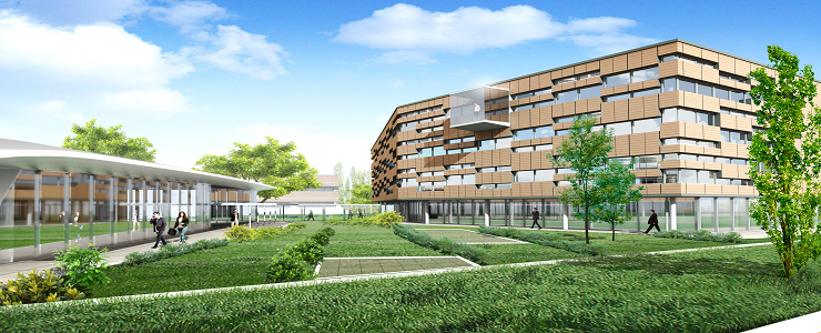 Italy, Parma - Expansion of Business Center Cavagnari
