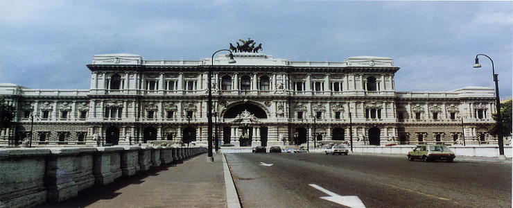 Italy, Rome - Restructuring of the Court of Justice