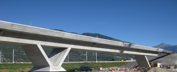 Switzerland - Lugano Bellinzona Viaduct