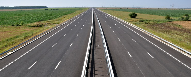 Romania - Bucharest-Brasov Highway