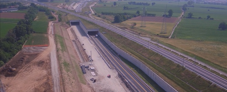 Italy, Interconnection between  motorways A35 and A4